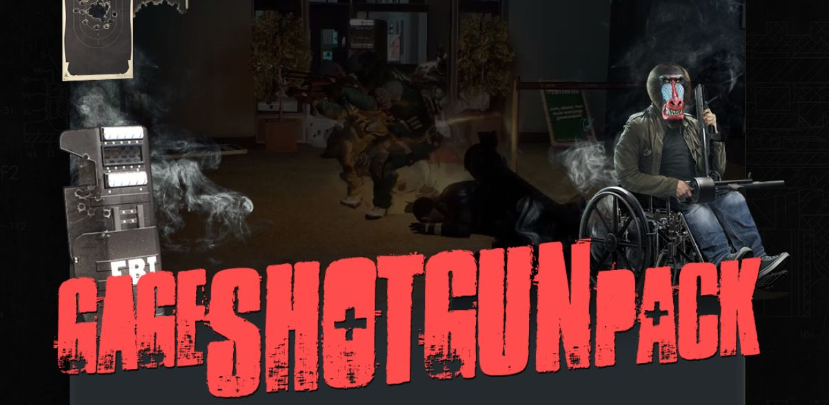 New shotguns in PayDay 2 will blow people out of your way ... M1216 Real Life