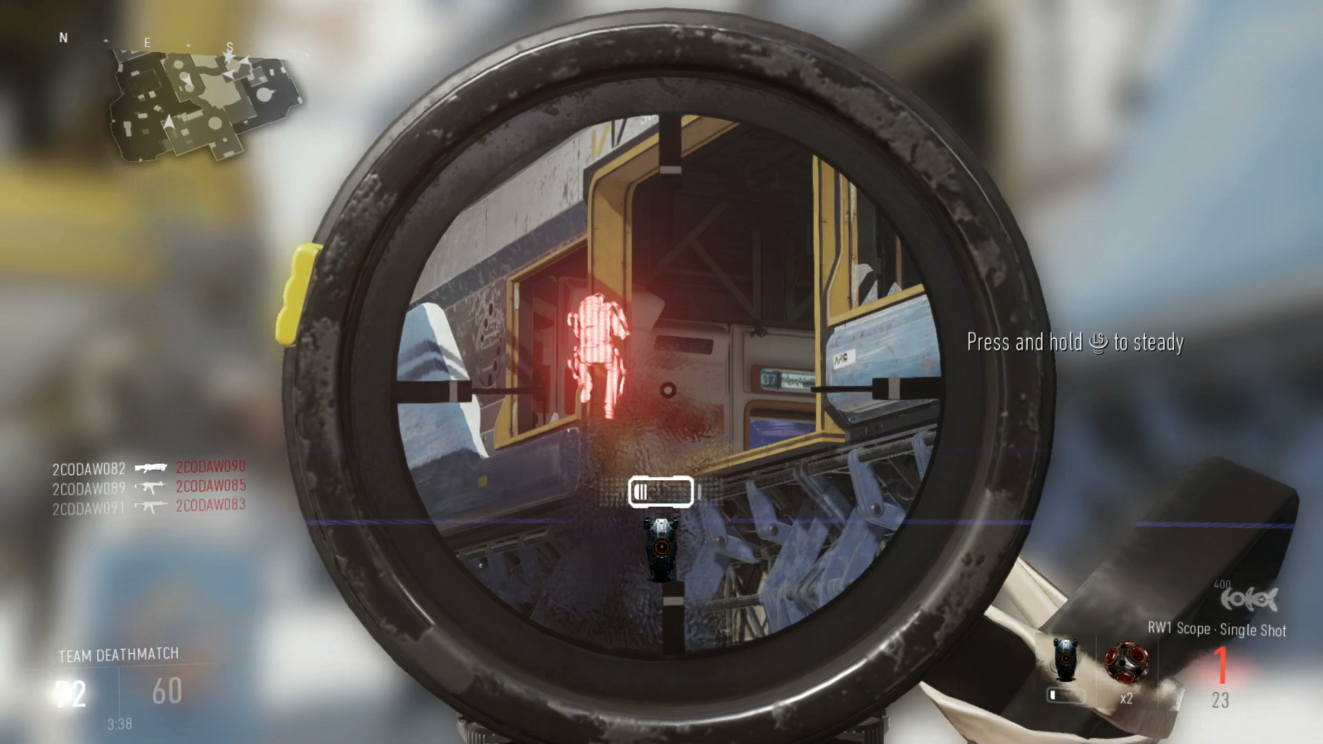 Call of duty advanced warfare watch exclusive gameplay live from