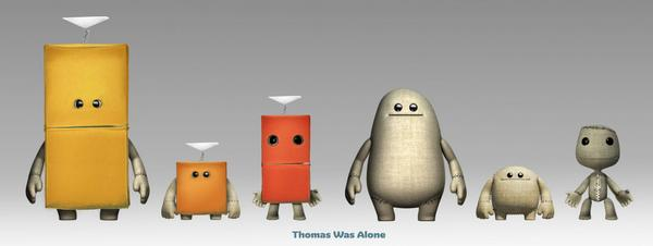 Little Big Planet 3 Is Getting A Thomas Was Alone Costume