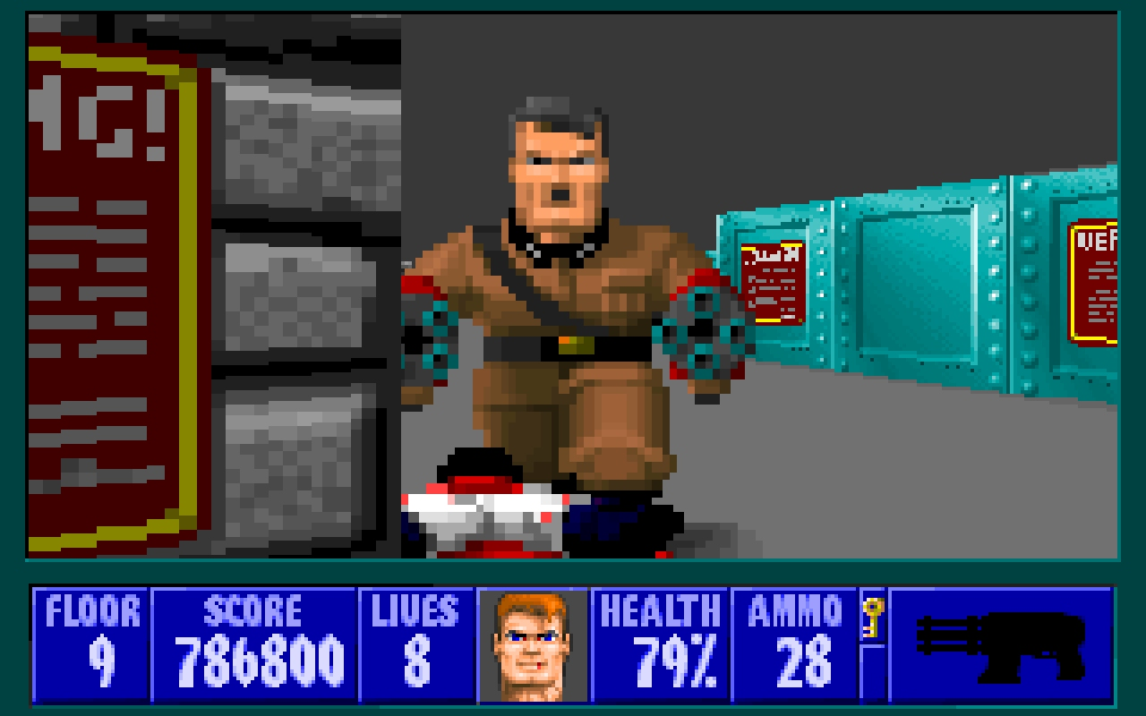 Wolfenstein 3d vg247 for Wolfenstein 3d