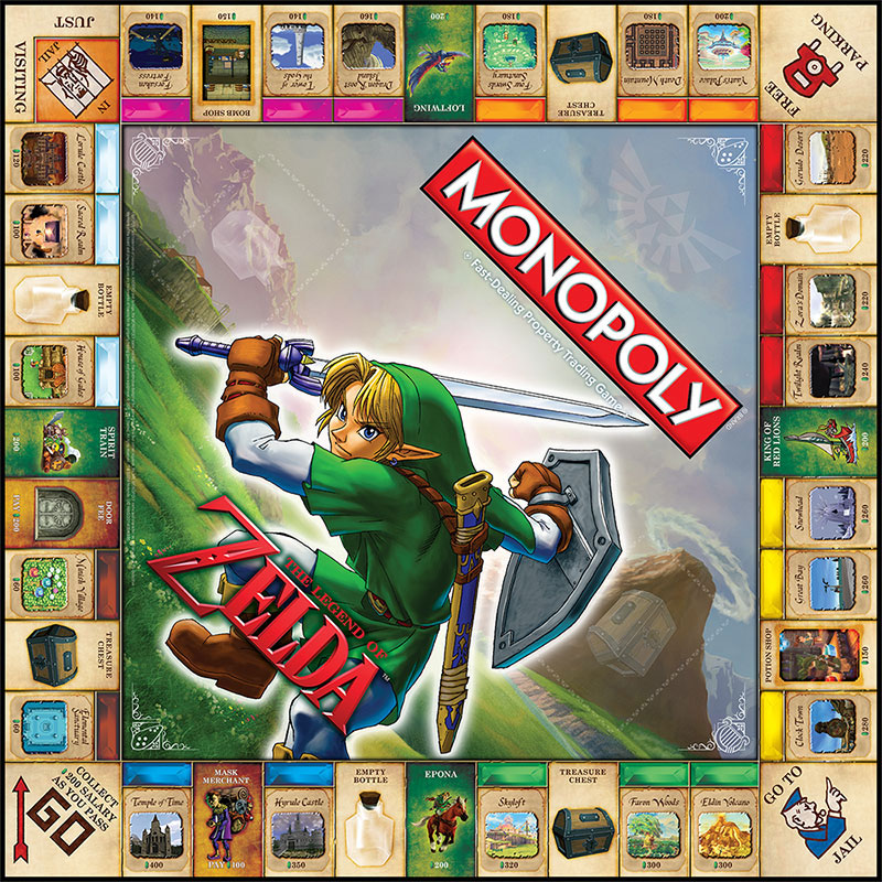 The Official Zelda Monopoly Set Isn't Rubbish