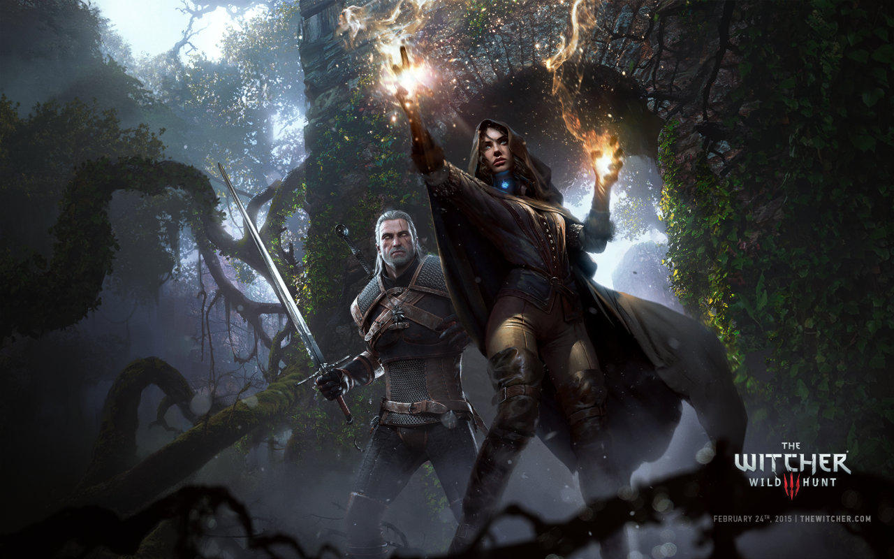 geralt and yennefer by - photo #10
