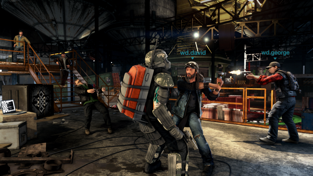 Watch Dogs  Coop Features