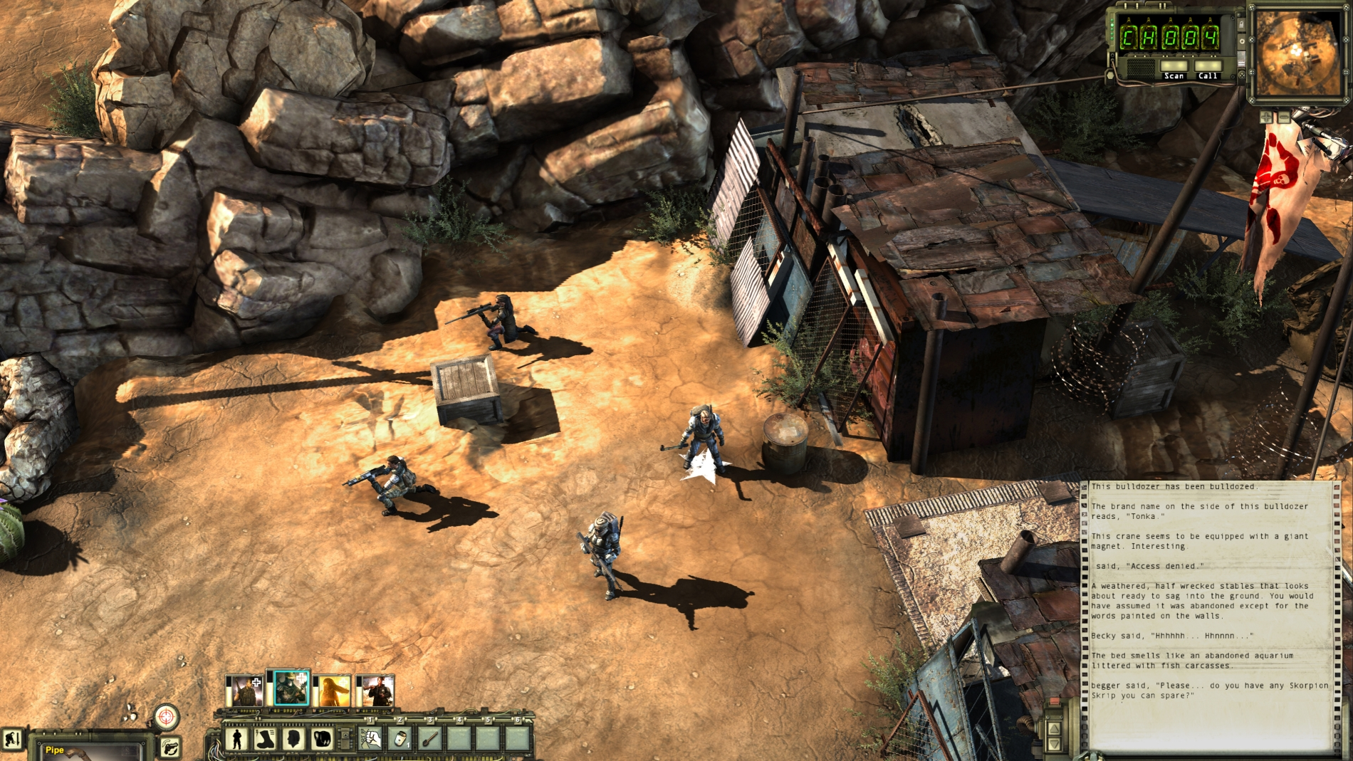 Wasteland 2 Guide How To Find Damonta Vg247