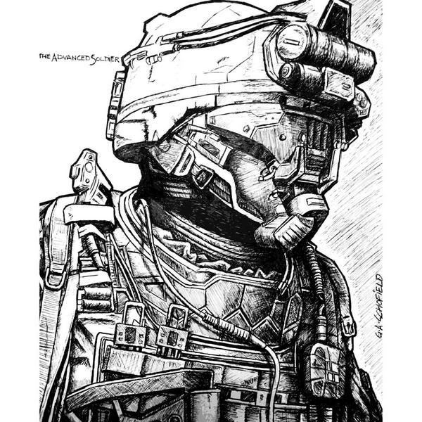 Here S Some Cod Advanced Warfare Sketches From