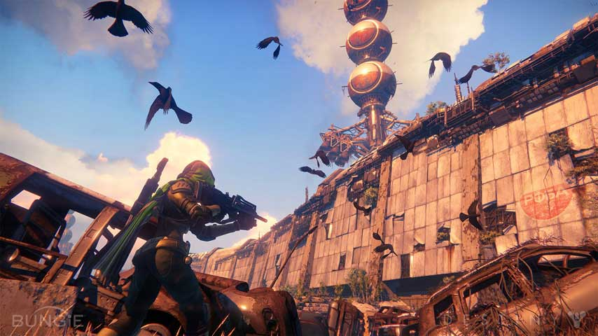 Destiny lore revealed explored and detailed in bungie environment