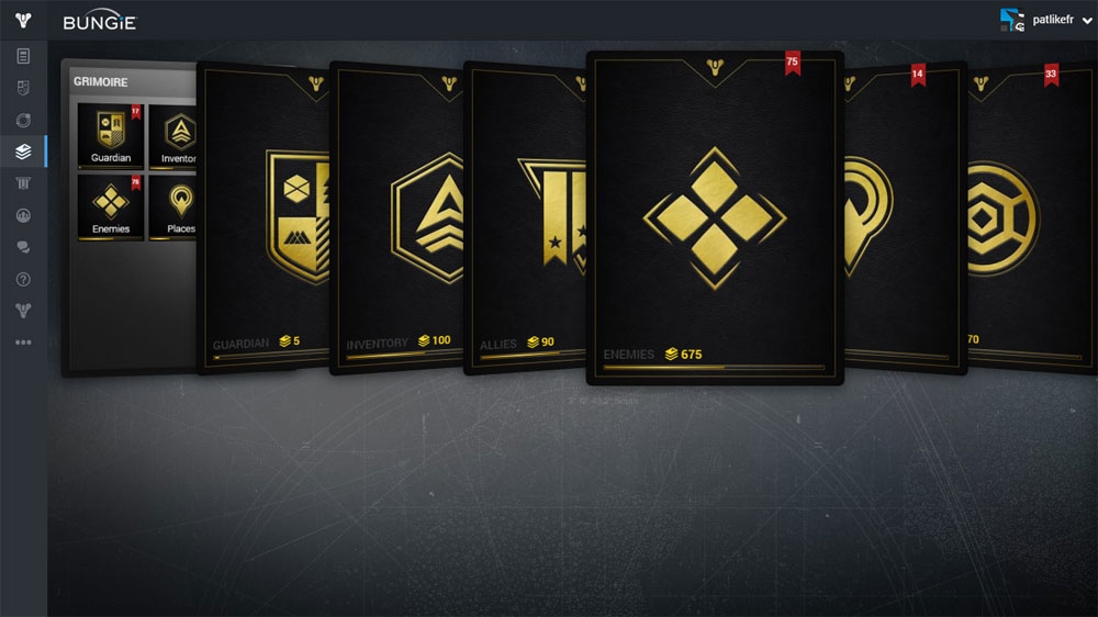 Why does destiny give you hundreds of grimoire cards you don t know