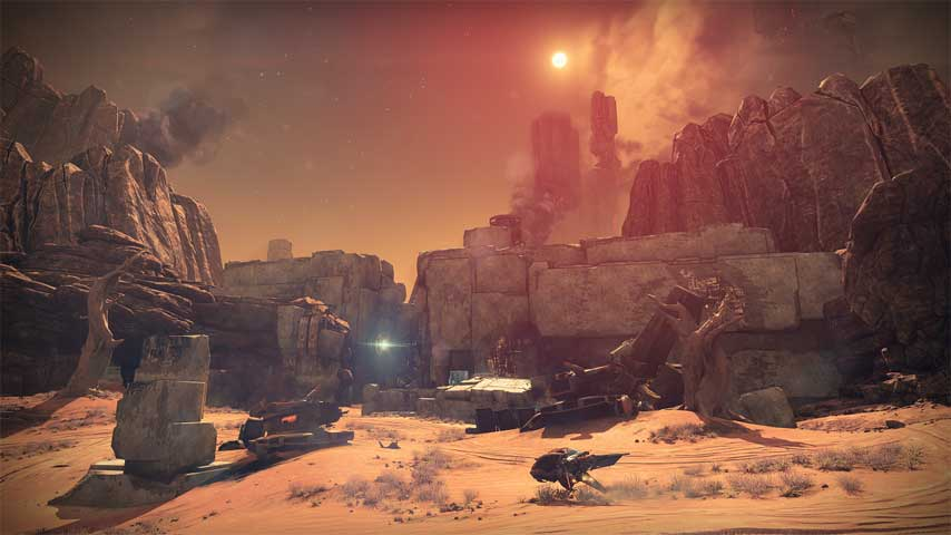 Destiny Guide Mars Meridian Bay Story Mission Walkthrough
