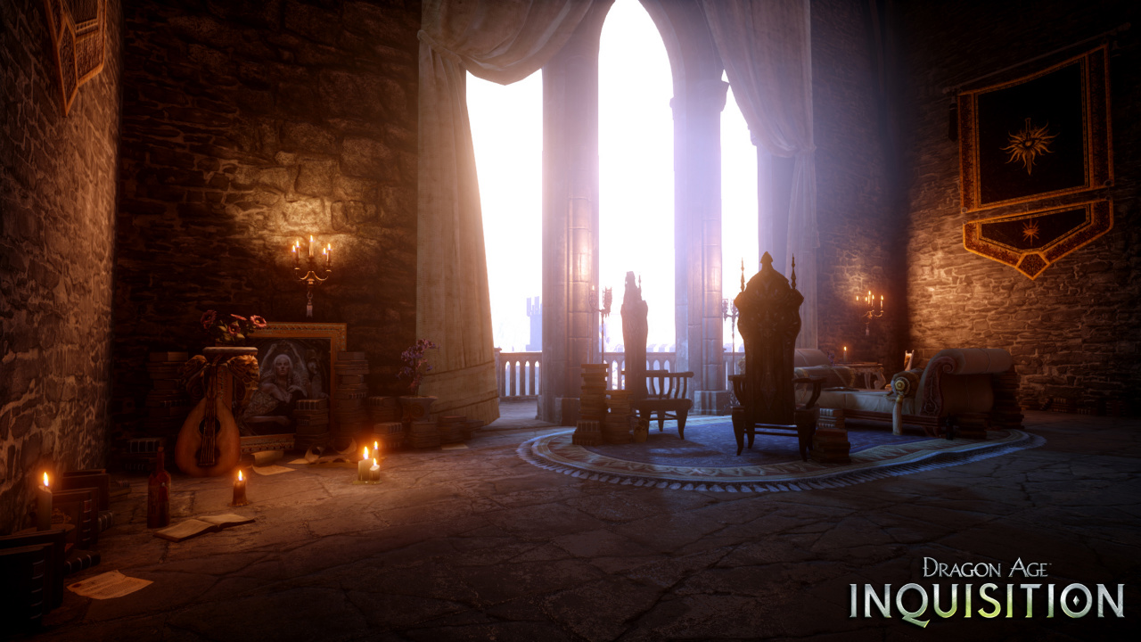 dragon age inquisition s home base can be customised vg247. Black Bedroom Furniture Sets. Home Design Ideas