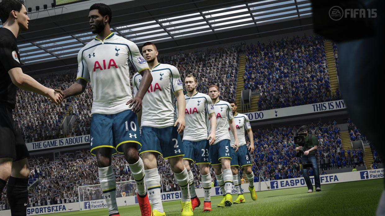 These fifa 15 screenshots show barclays premier league players