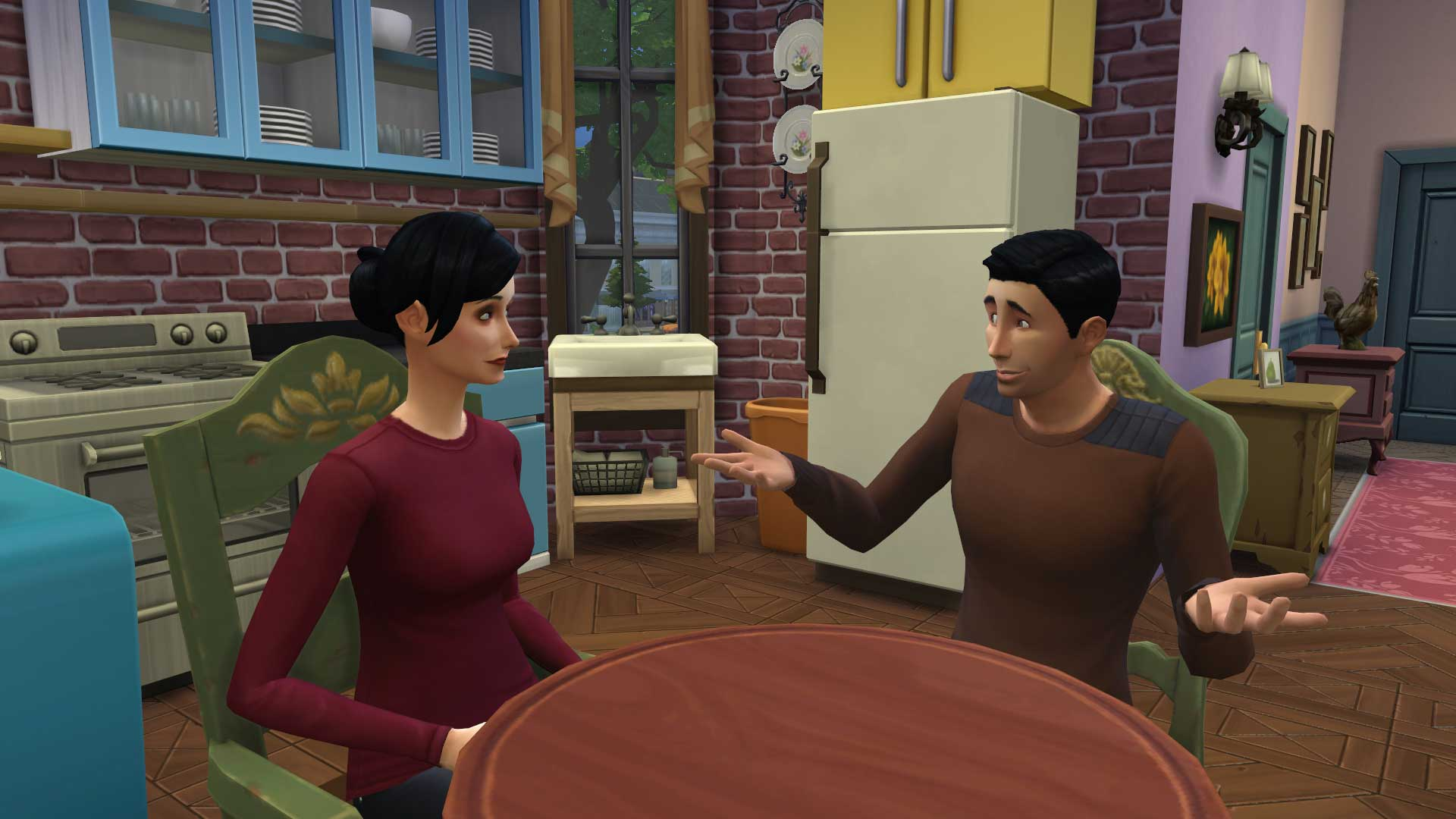 Check Out Friends And Seinfeld Recreated In The Sims 4 - Vg247-1830
