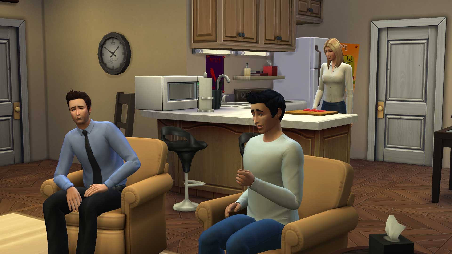 Check Out Friends And Seinfeld Recreated In The Sims 4 Vg247