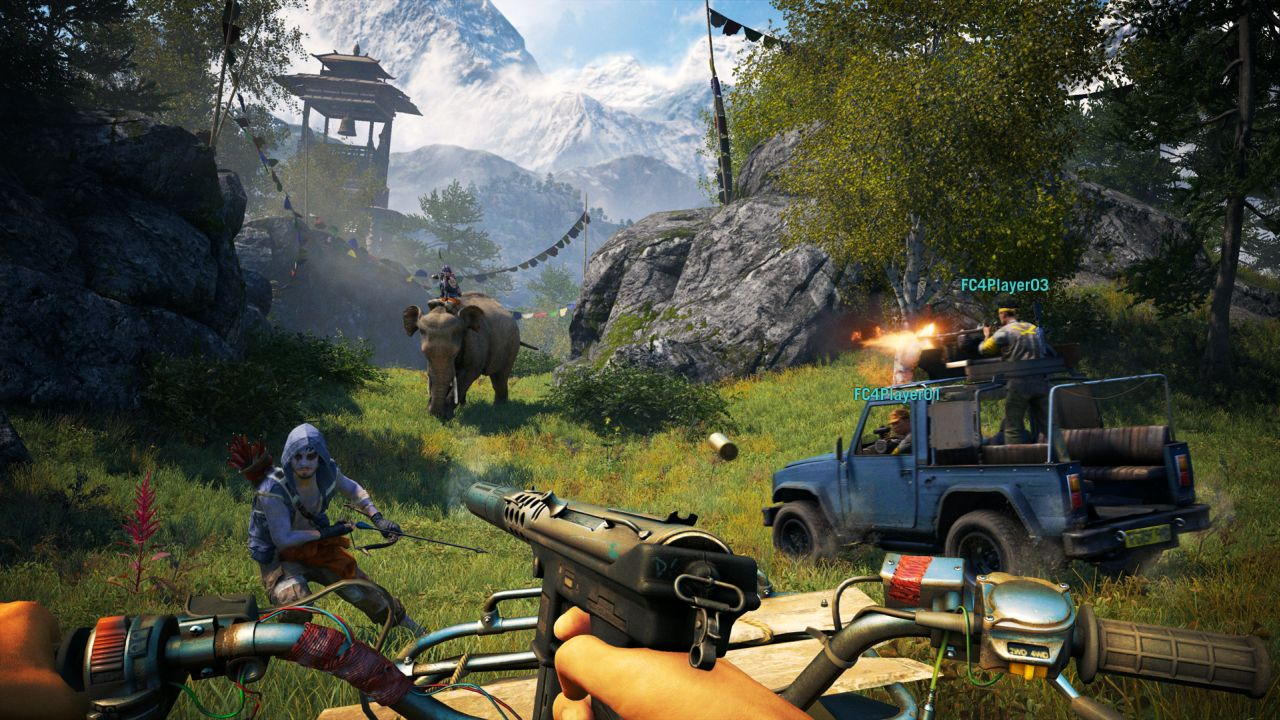 far cry 4 multiplayer details video released as game goes gold vg247. Black Bedroom Furniture Sets. Home Design Ideas