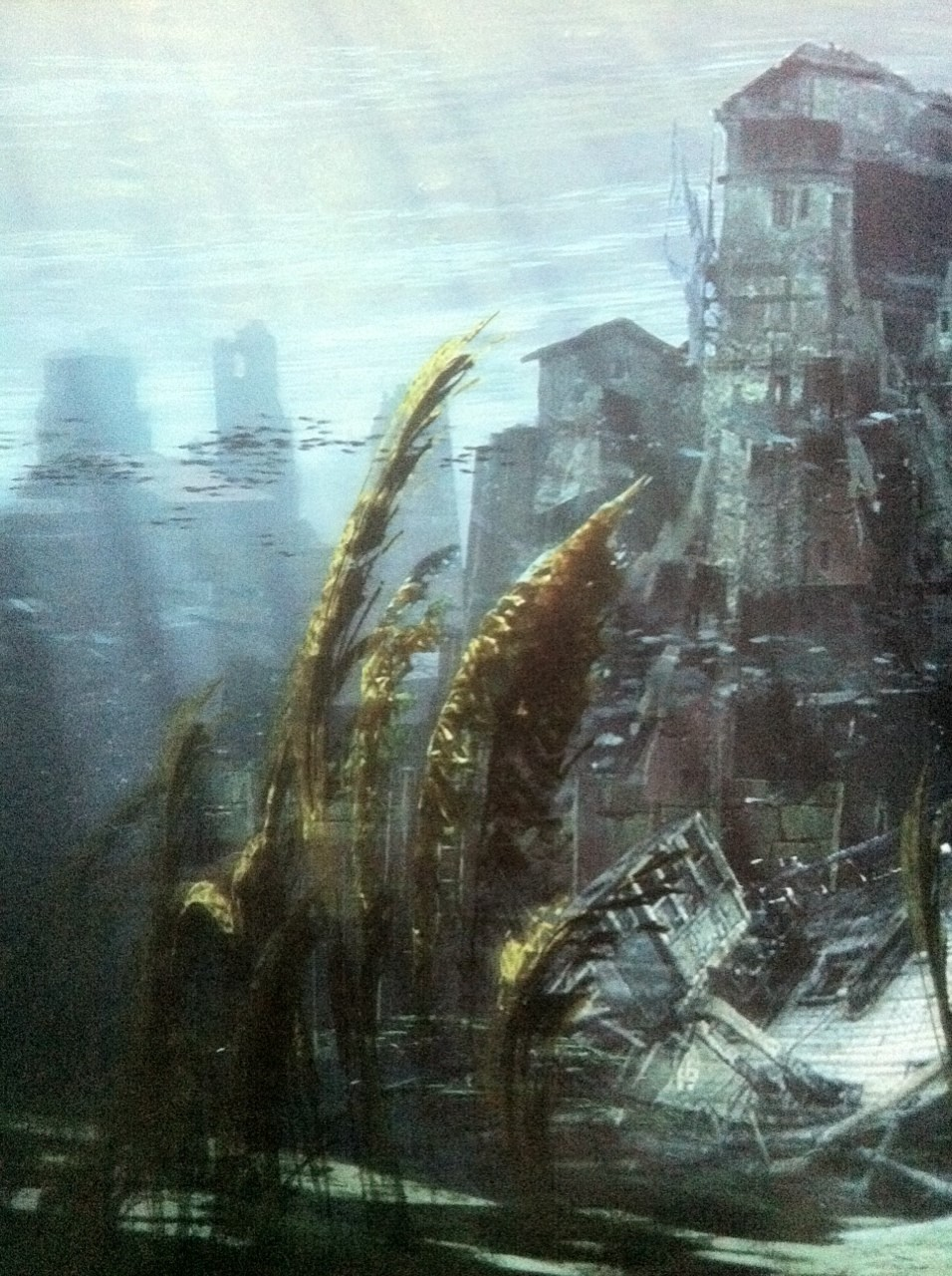 Uncharted 4 concept art shows a glimpse of in-game ...