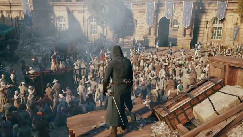 Watch An Assassin S Creed Unity Time Travel Mission Vg247