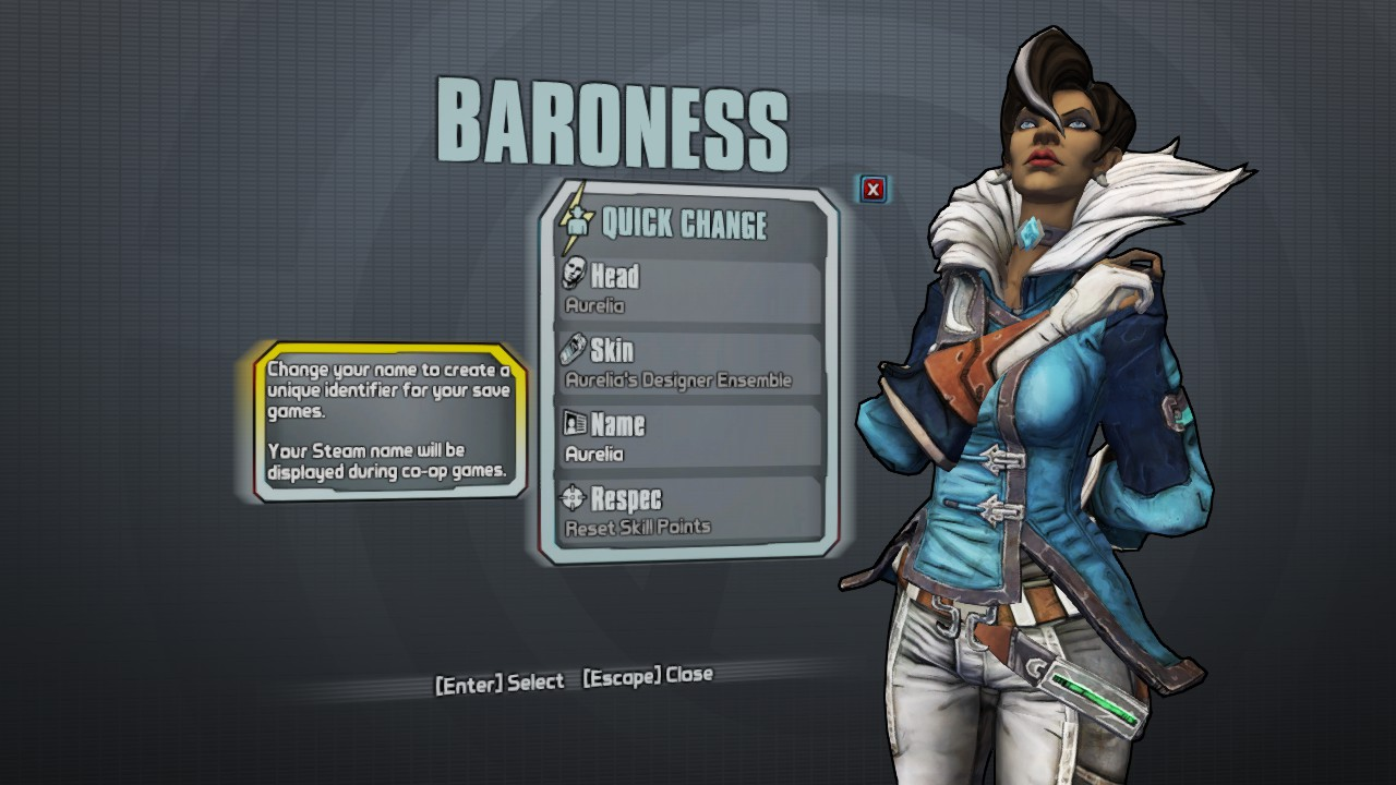 This what an unannounced borderlands the pre sequel dlc character