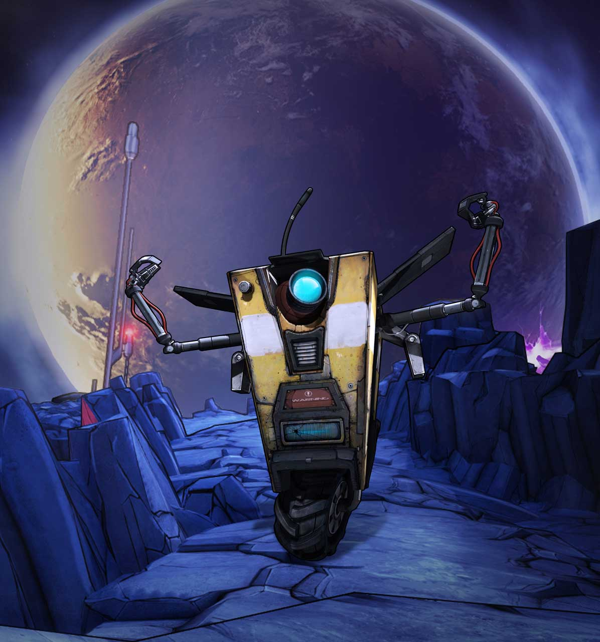 Claptrap is the star of latest Borderlands: The Pre-Sequel ... Borderlands Pre Sequel