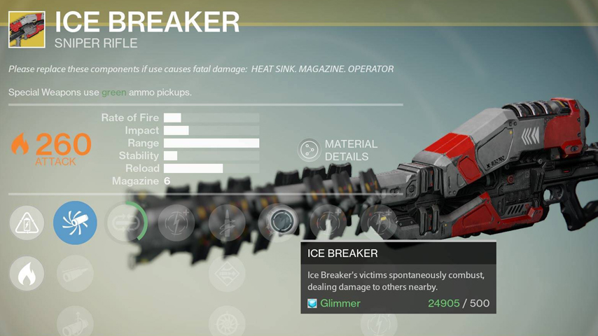 Destiny exotic weapon nerfs aren t intentional more info coming