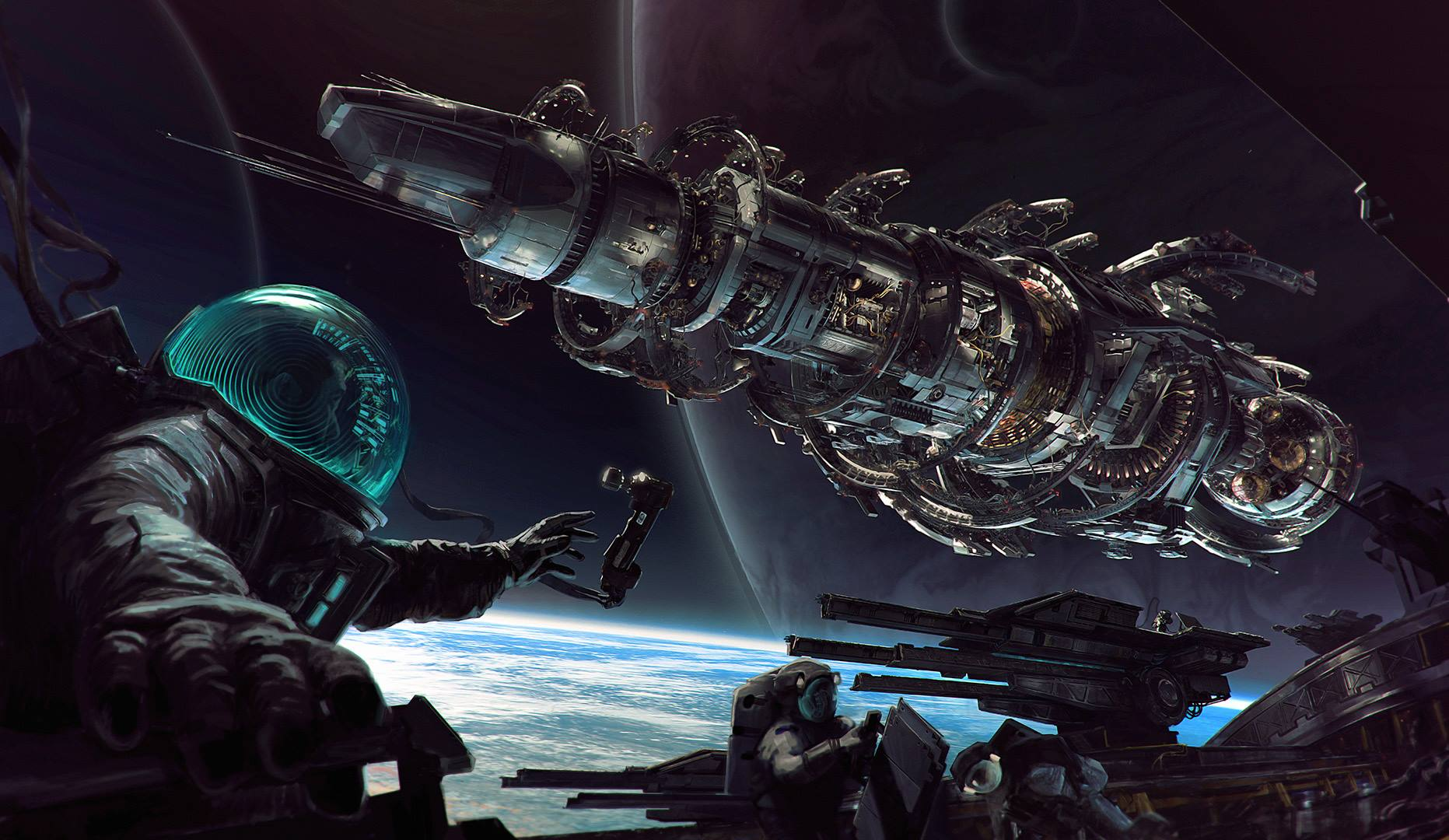 Fractured space is the new game from strike suit zero devs vg247