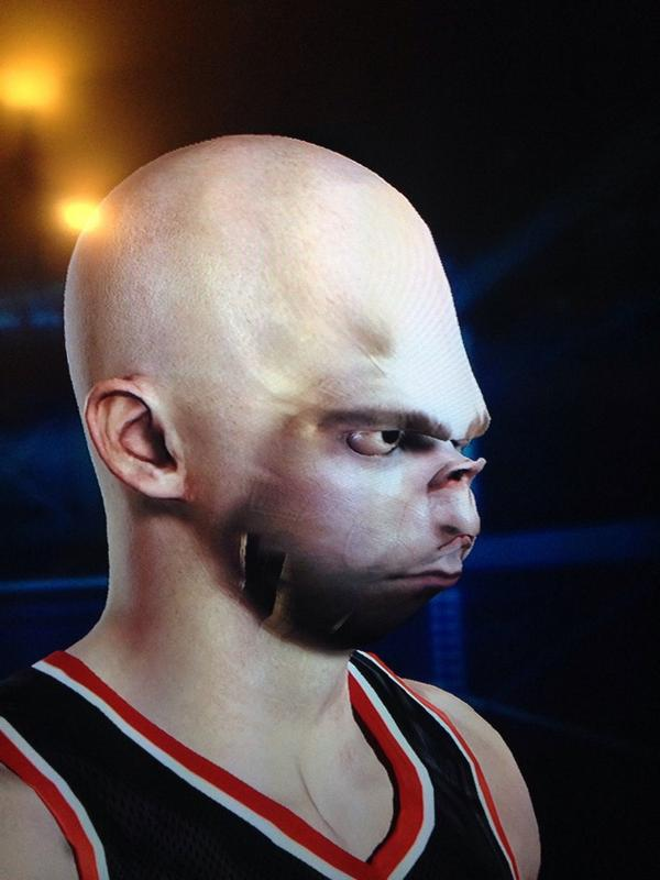 When NBA 2K15's facial scanning tech goes wrong - VG247