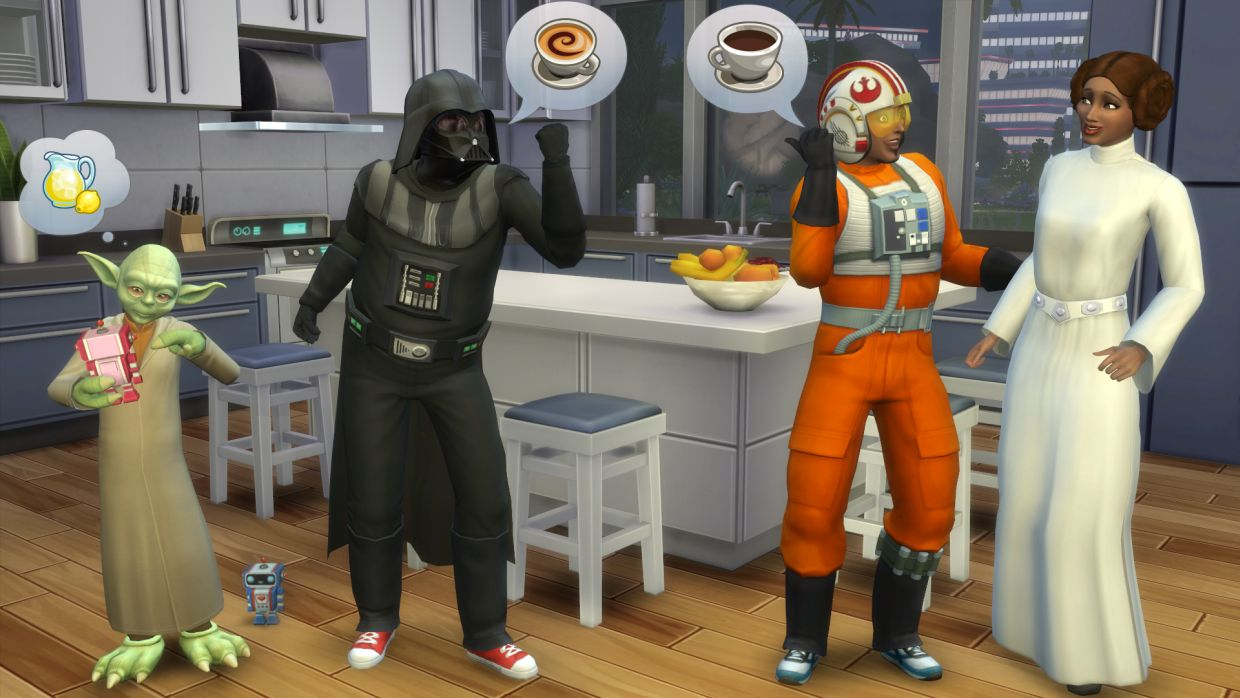Today's Sims 4 update includes Star Wars duds and ghosts; pools ...