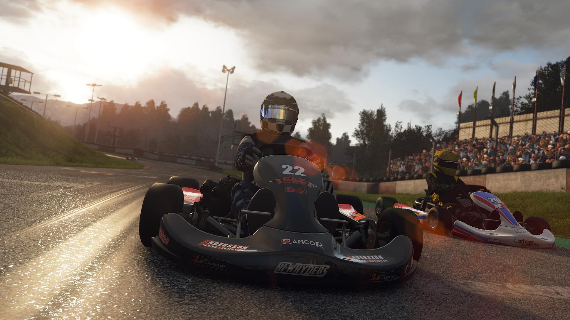 project cars screens are all about karting vg247. Black Bedroom Furniture Sets. Home Design Ideas