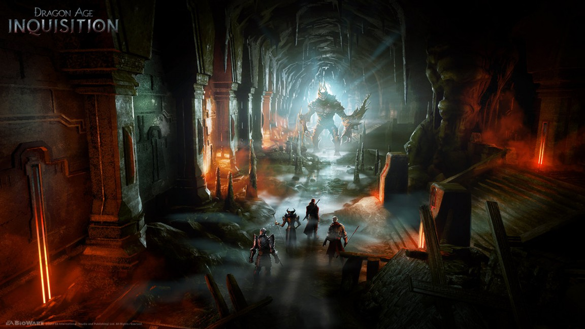 Dragon Age Bioware Video Games Rpg Fantasy Art: Take A Look At Some Of Dragon Age: Inquisition's Stellar