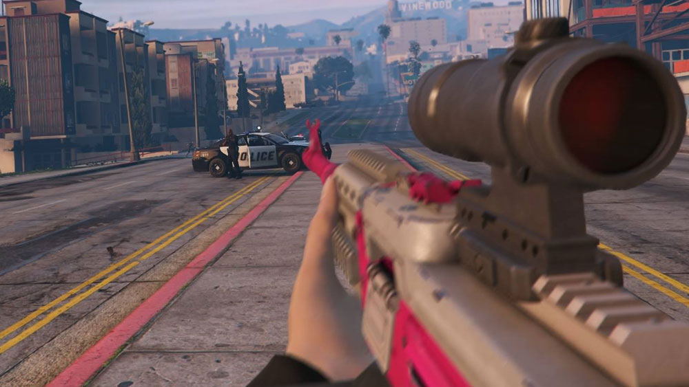 how to change person in gta 5