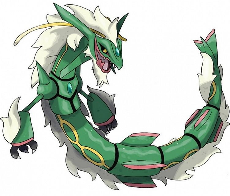Pokemon omega ruby alpha sapphire video shows space battle between rayquaza and deoxys vg247 - Pokemon mega pokemons ...