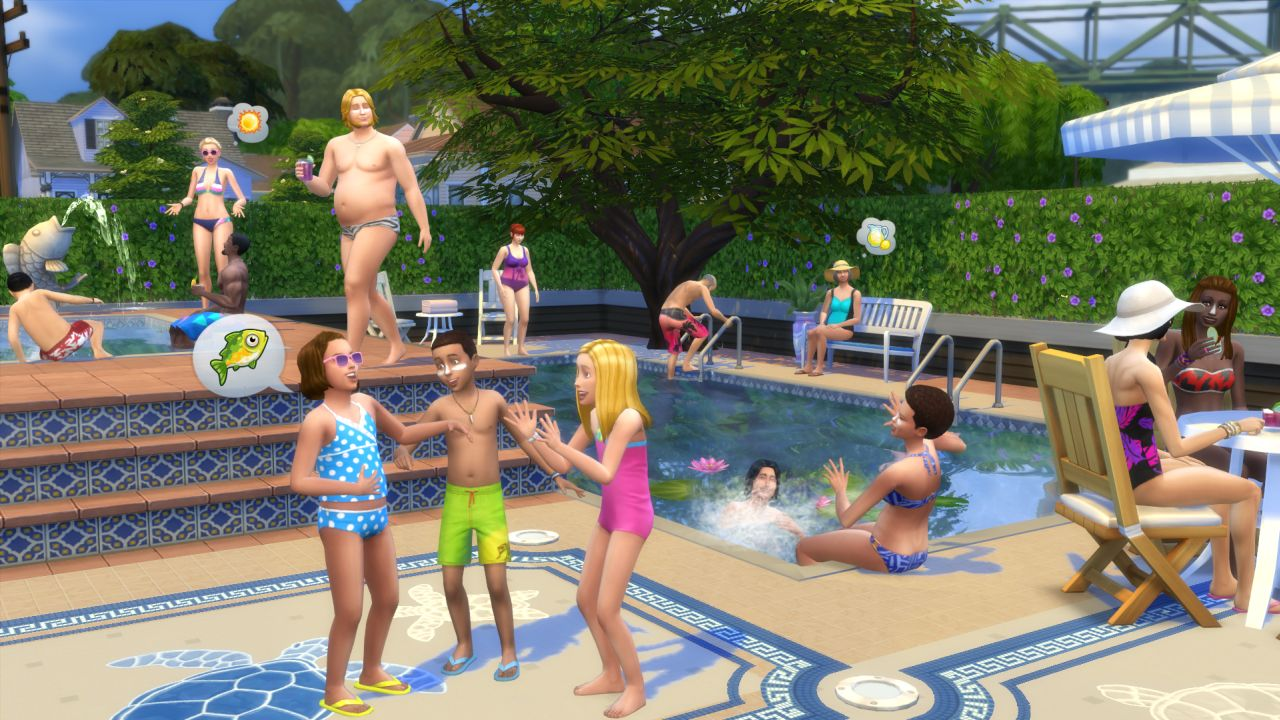The sims 4 swimming pool update has landed as promised vg247 for Pool design sims 4