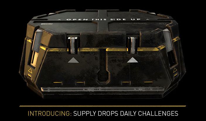 Advanced warfare supply drop dailies