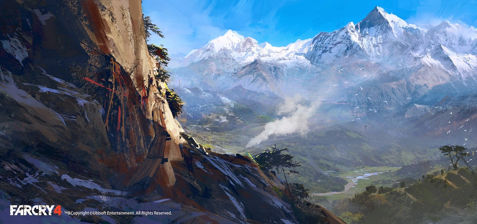 far cry 4 concept art is the reason why it 39 s a beautiful game vg247. Black Bedroom Furniture Sets. Home Design Ideas