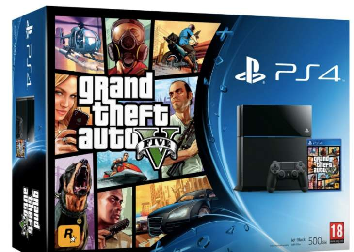 game is offering a ps4 gta 5 cod advanced warfare the