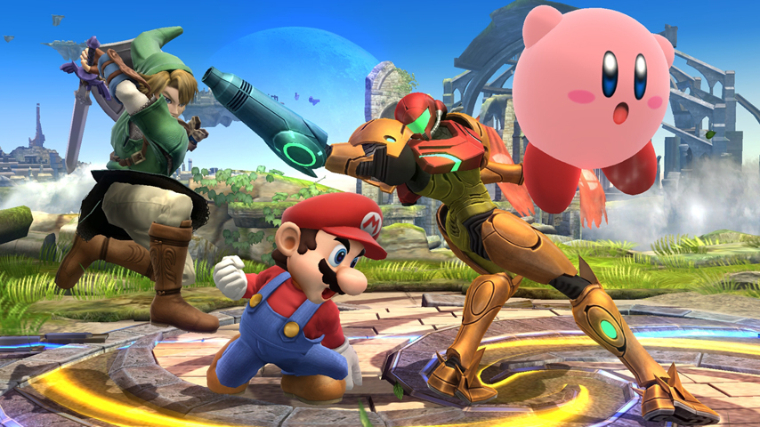 Super smash bros wii u is not going to brick your console update vg247 - Console wii u super smash bros ...