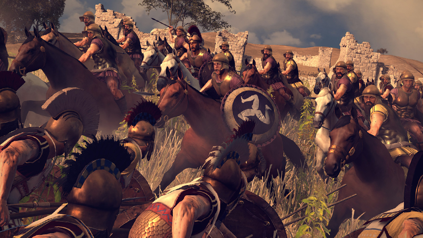Total War: Rome 2 Wrath of Sparta DLC focuses on
