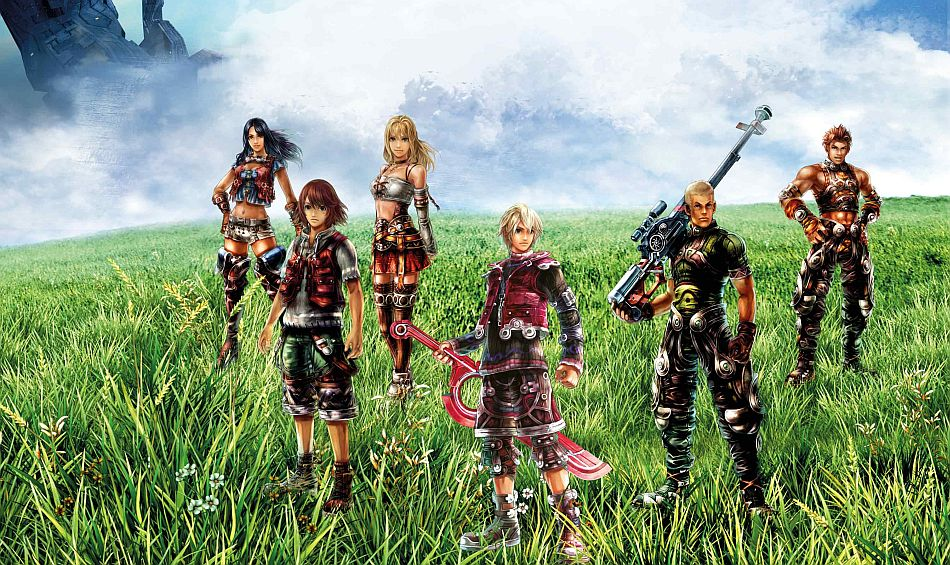 Xenoblade Chronicles 3d Screens Show How The Game Looks On