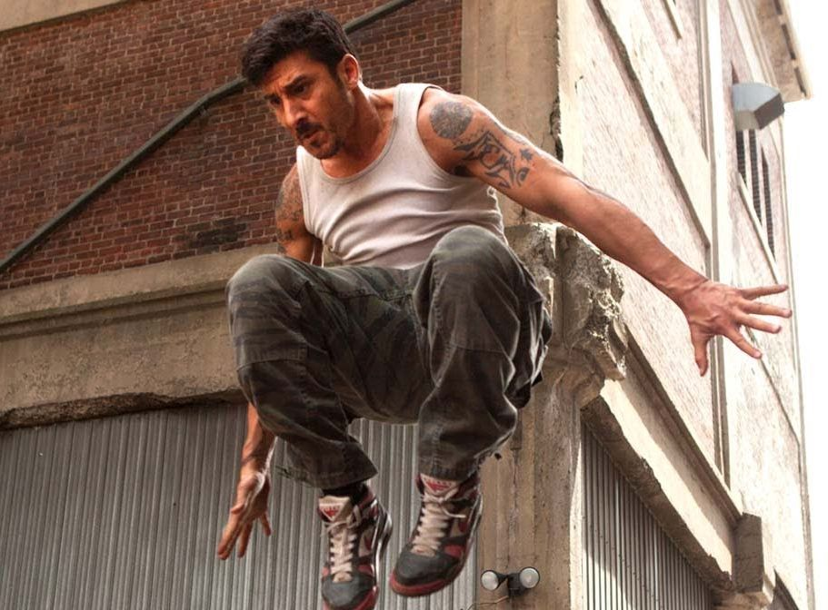 Parkour pioneer David Belle acted as a consultant on Dying ...