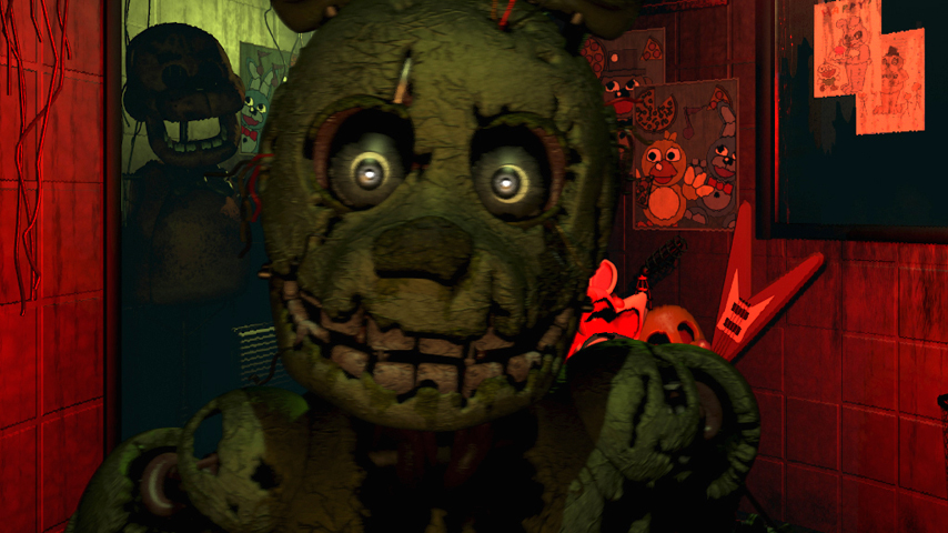 Five night s at freddy s 4 teased for halloween release vg247