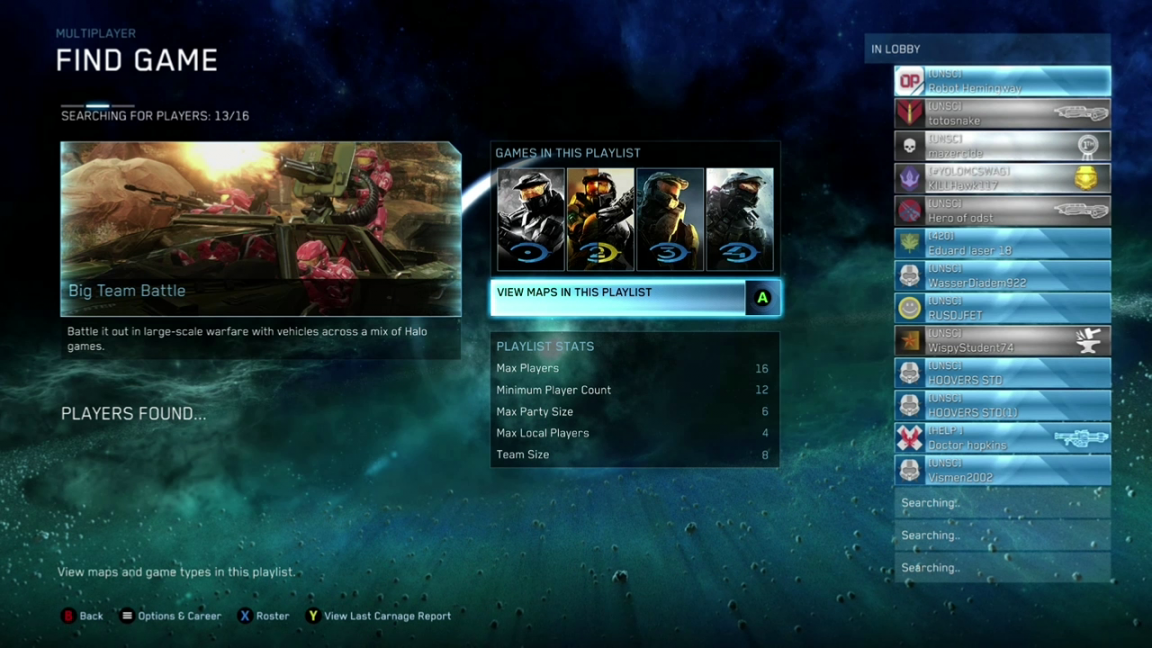 halo matchmaking still wont work Microsoft's launch of halo: the master chief collection was a disaster the games were buggy you couldn't contact friends joining a party was a colossal pain in the ass matchmaking within a party was a nightmar.