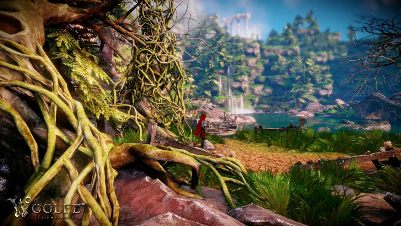 Twisted fairy tale Woolfe: The Red Hood Diaries hits Steam Early