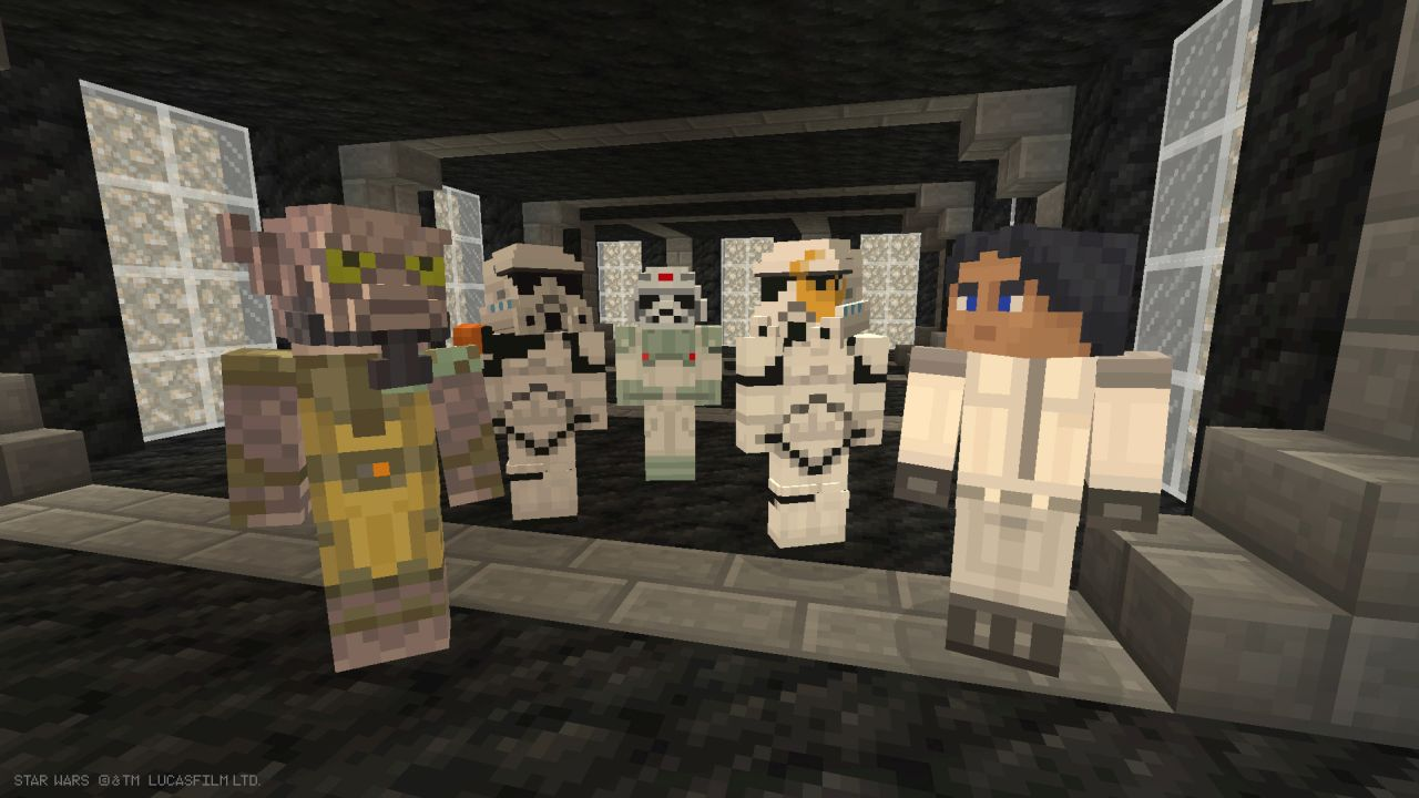 Star wars rebels skin pack released for minecraft xbox 360 xbox one