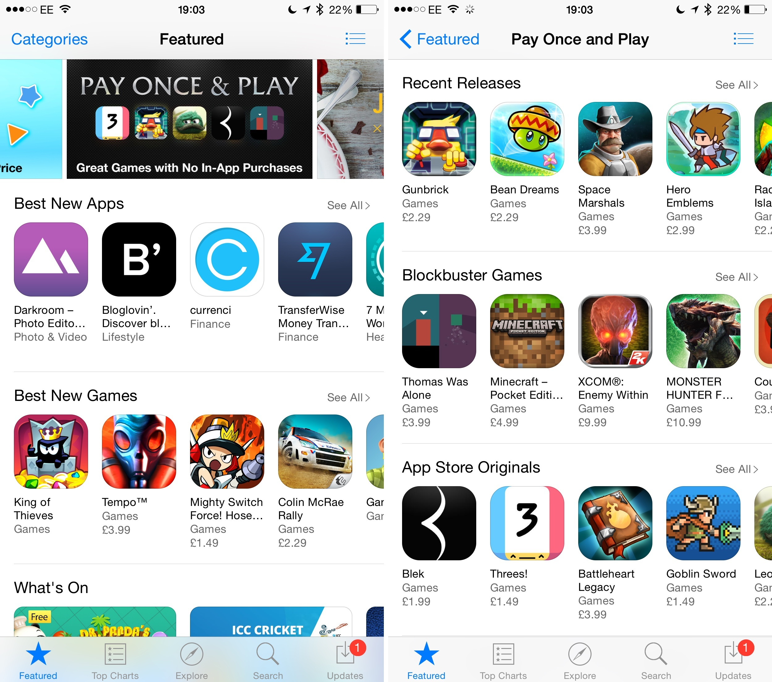 "Apple Adds New ""Pay Once And Play "" Category To The App"