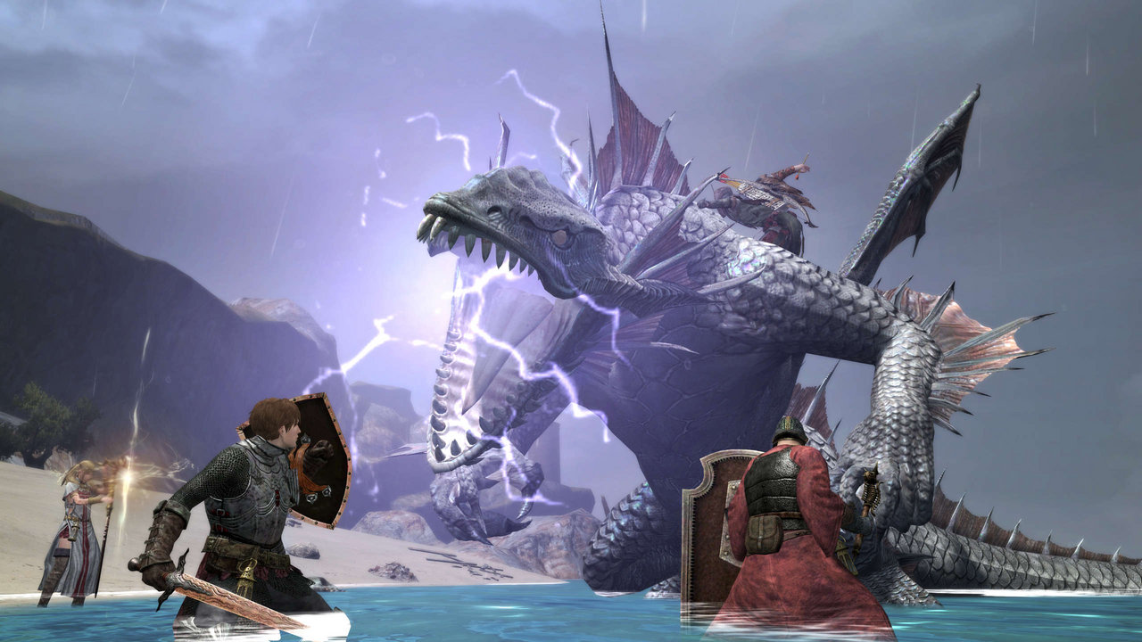 Dragon S Dogma: Dragon's Dogma Online Screens Show The Game's Different
