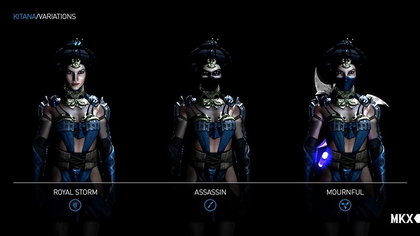 Mortal Kombat X Trailer Shows Kitana S Variations Vg247