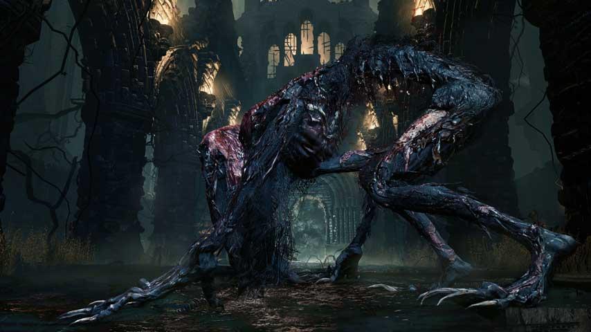 Scary Dark Place What do Bloodborne ene...