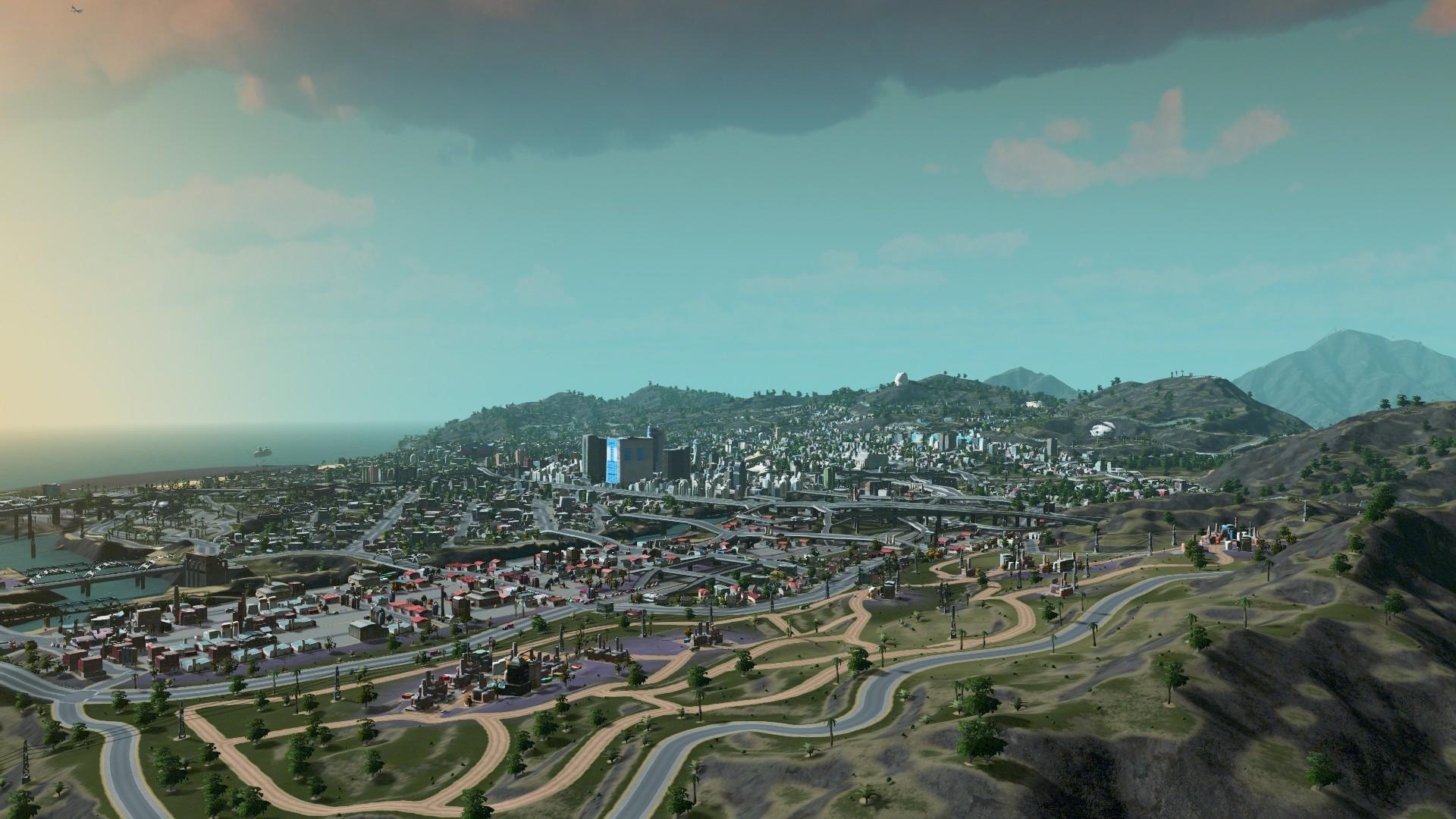 cities skylines how to start new city