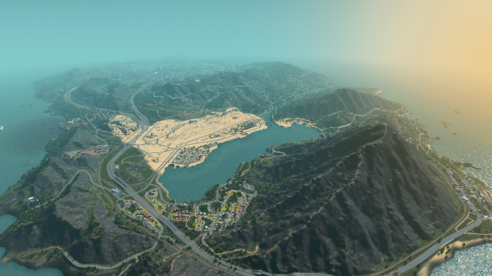 GTA 5's Los Santos recreated for Cities: Skylines - and it ...