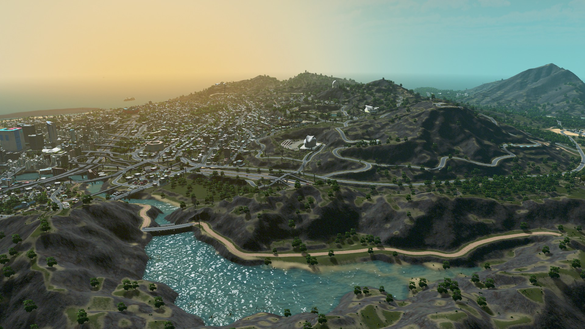 Gta 5 S Los Santos Recreated For Cities Skylines And It
