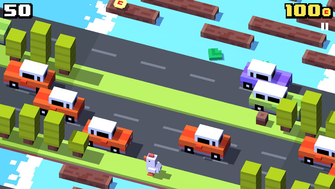 This Is What Crossy Road Looks Like In First Person Vg247