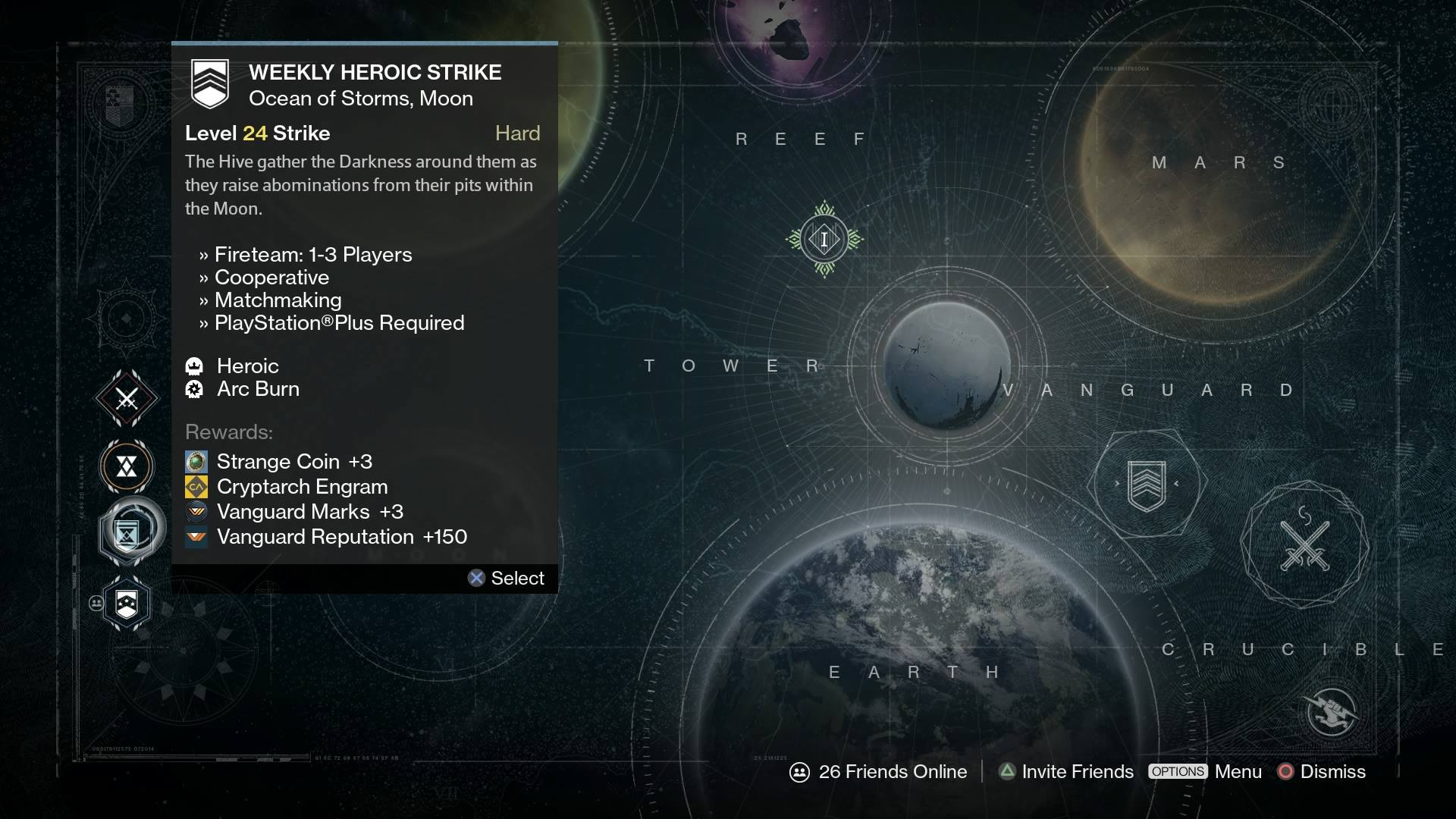 Strike Destiny Nightfall Weekly